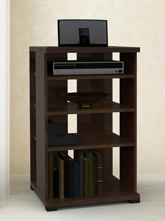 Jasper Tall Audio Cabinet - Nexera