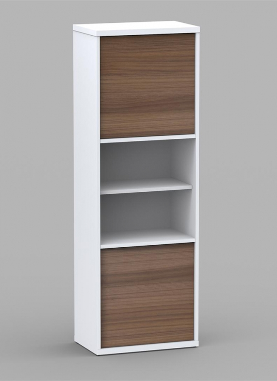 Liber-T 54 inch 2 Door Bookcase