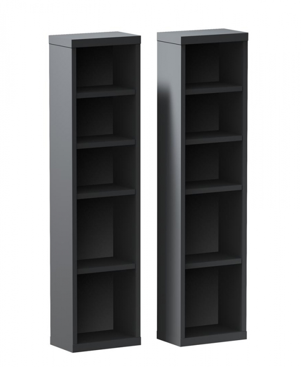 Sereni-T CD/DVD Storage Towers (Pair) - Nexera