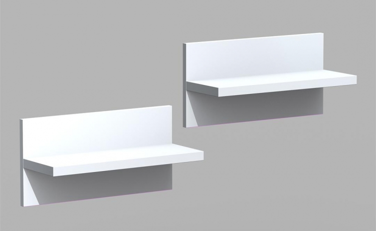 Liber-T Wall Shelves (Pair)