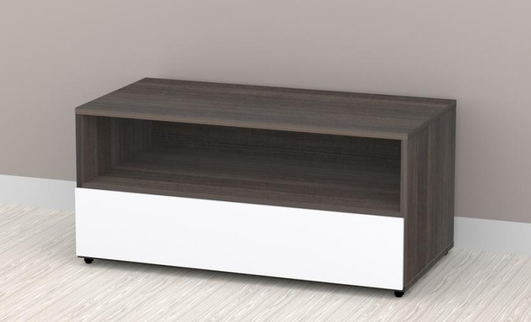 Allure 36 inch TV Stand - 1 Open Shelf, 1 Drawer - Nexera