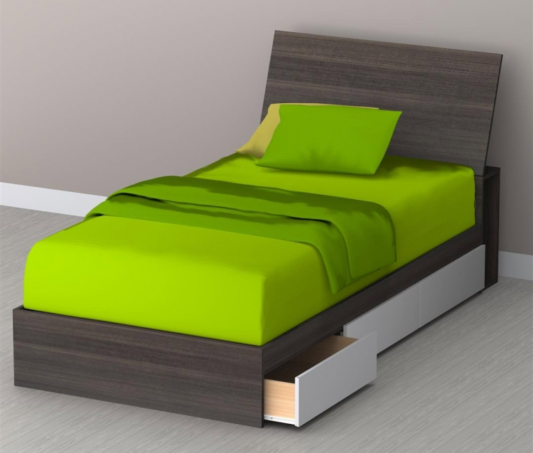 Allure Twin Storage Bed