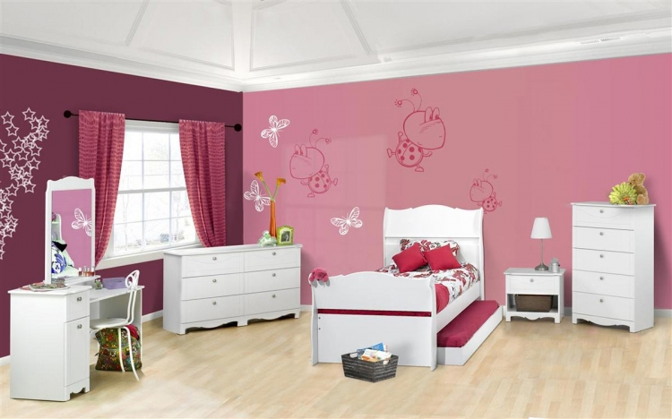 Dixie Sleigh Bedroom Collection - Nexera