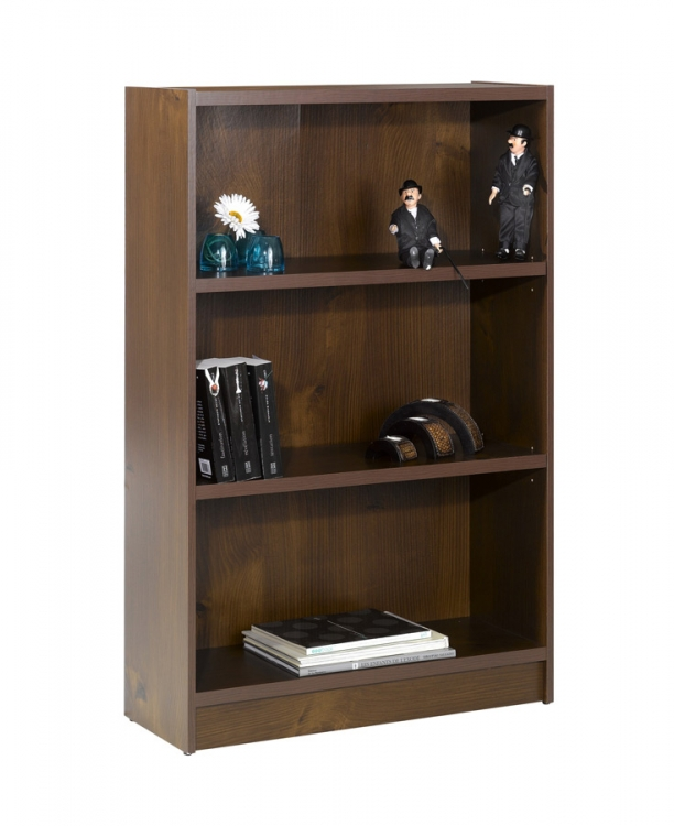 Essentials 48 Inch Tall Bookcase - Truffle - Nexera
