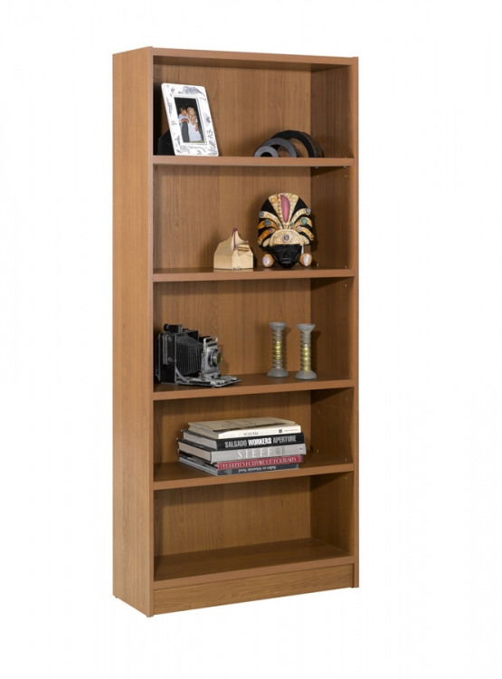 Essentials 72 Inch Tall Bookcase - Cappuccino - Nexera