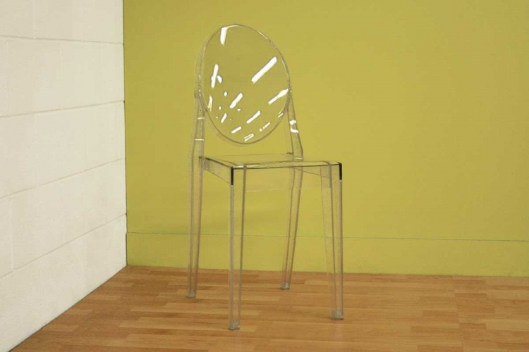 Dreama Clear Accent Chair