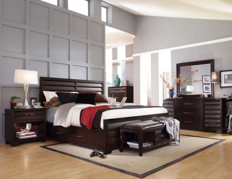 modern bedroom ideas black and white bedroom 300x300 7 black modern