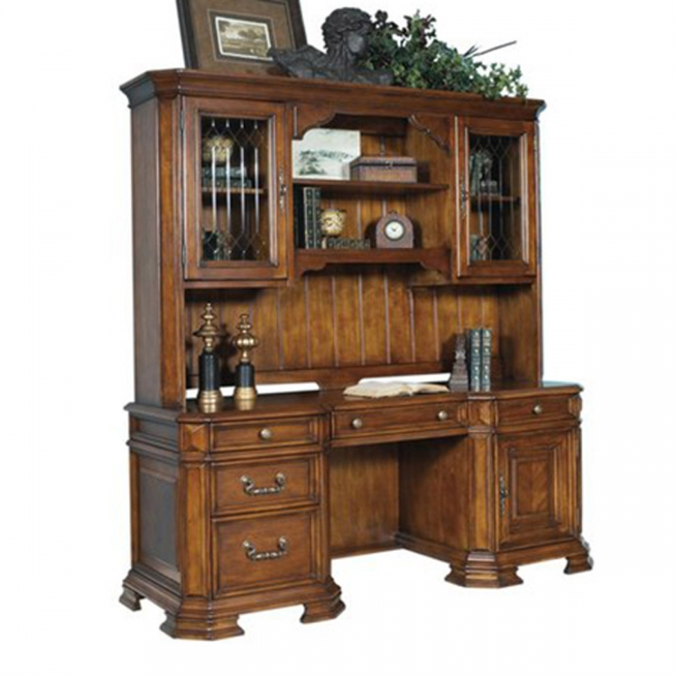 Madison Computer Desk and Hutch