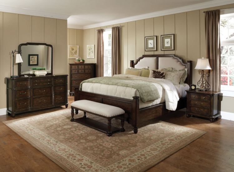 Saddle Ridge Poster Bedroom Collection - Pulaski