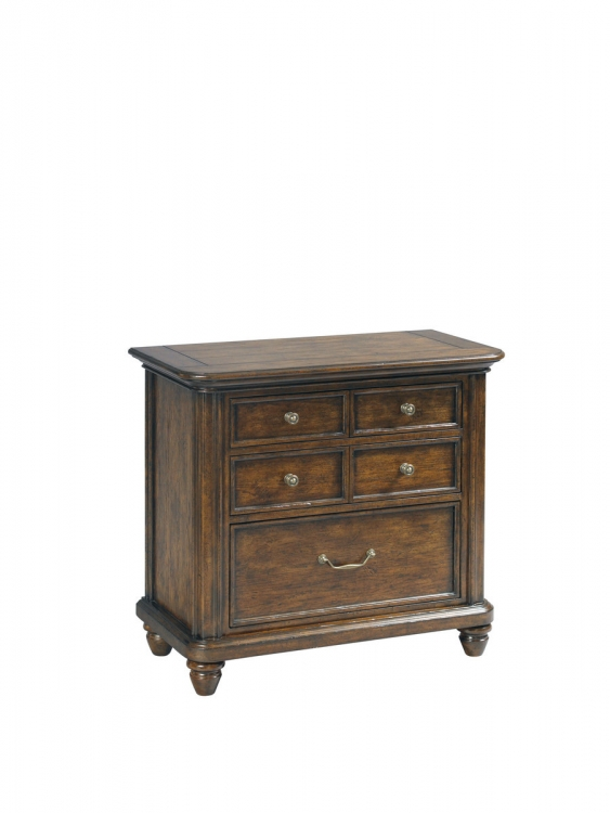 Saddle Ridge Bedside Chest - Pulaski
