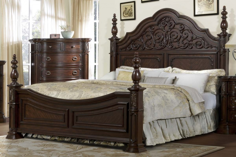 Homelegance Chateau Brown Bedroom Set B549 At Homelement Com