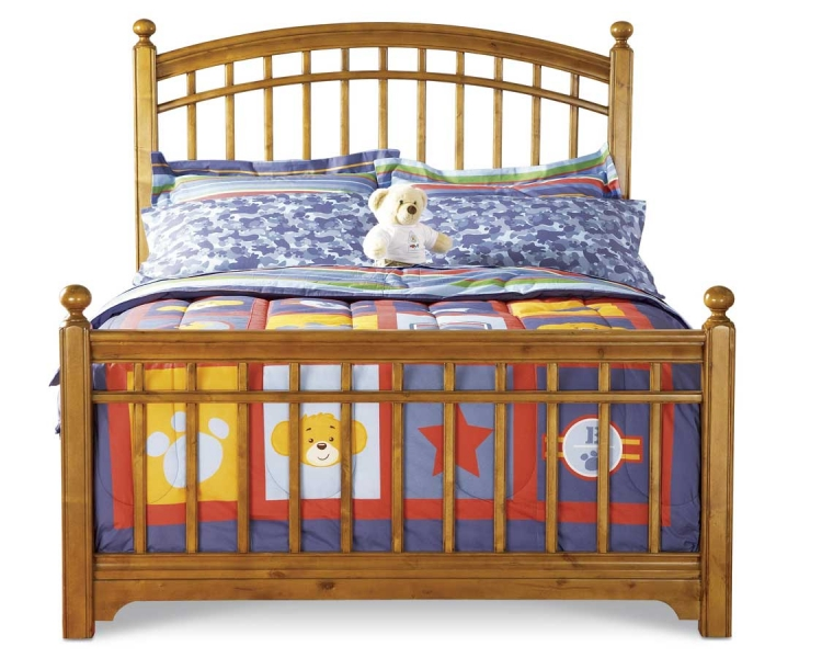 Bearrific Panel Bed-Pulaski