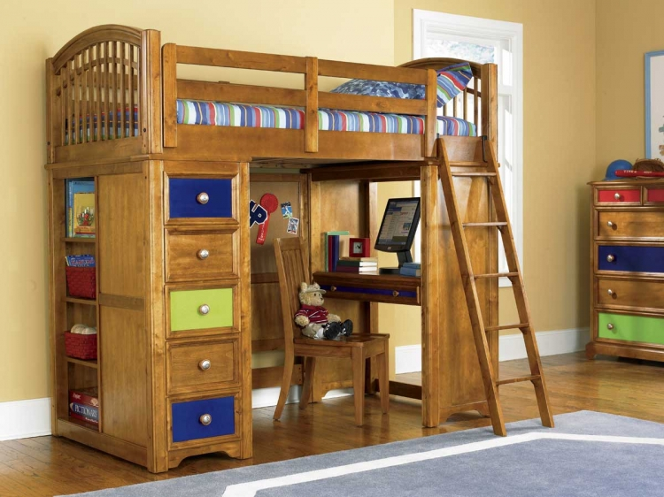 Bearrific Loft Bed -Pulaski