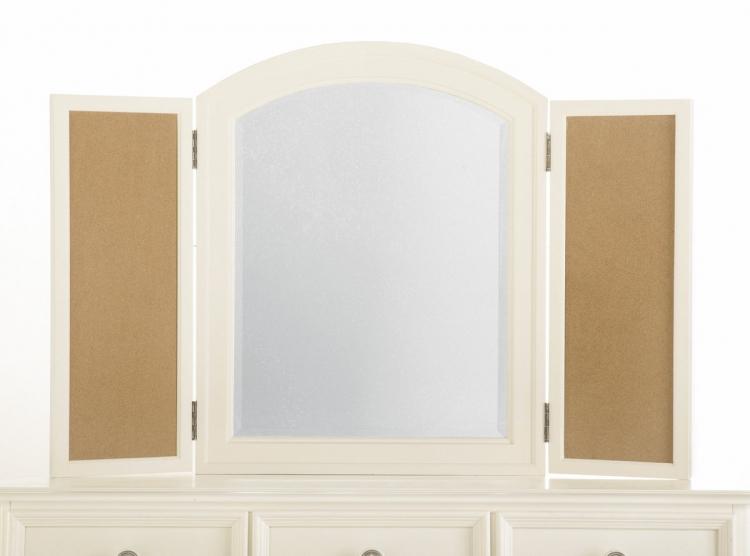 Pawsitively Yours Vanilla Photo Mirror