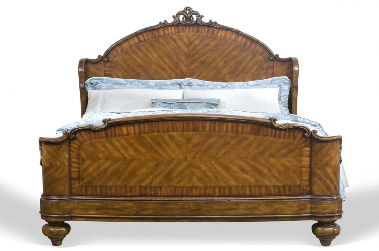 Victorias Manor Sleigh Bed
