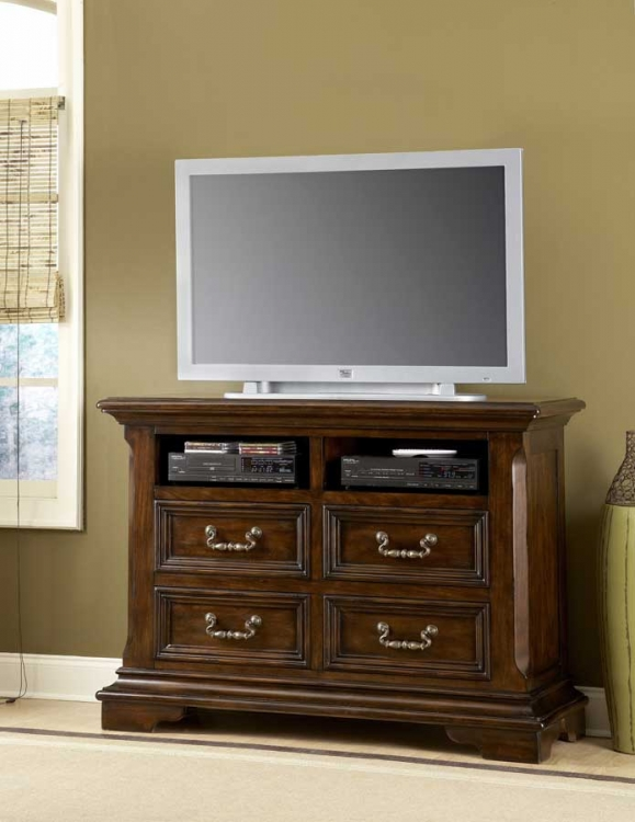 Timber Heights Entertainment Console-Pulaski