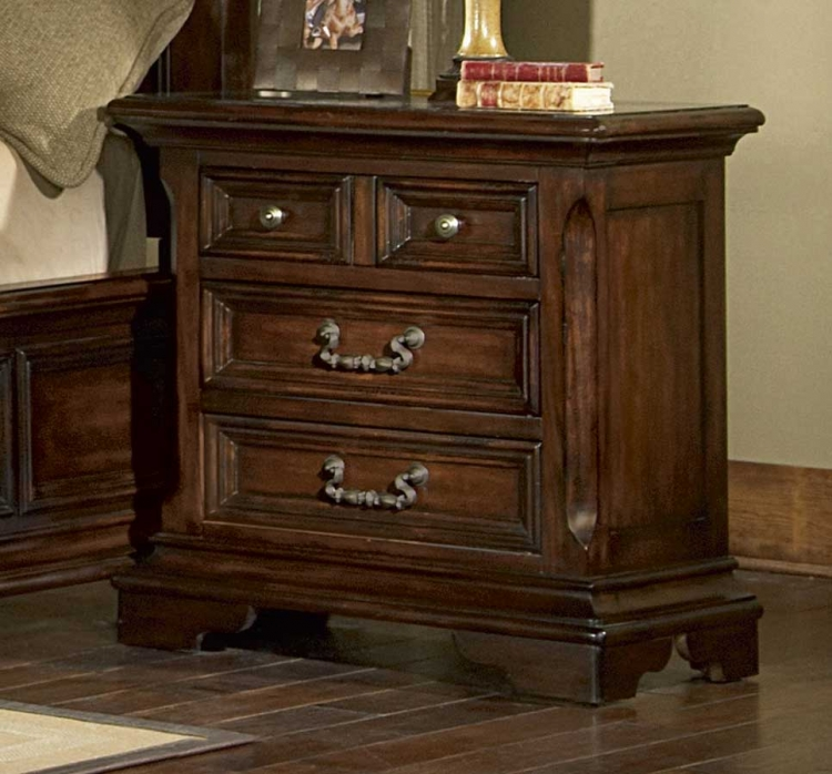 Timber Heights Nightstand-Pulaski