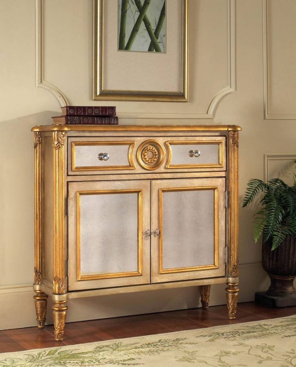 savoy mirrored hall chest - Accent Chests