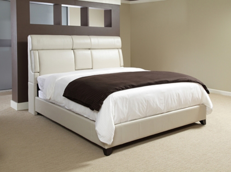 Dreamsrfr Upholstered Bed - Taupe