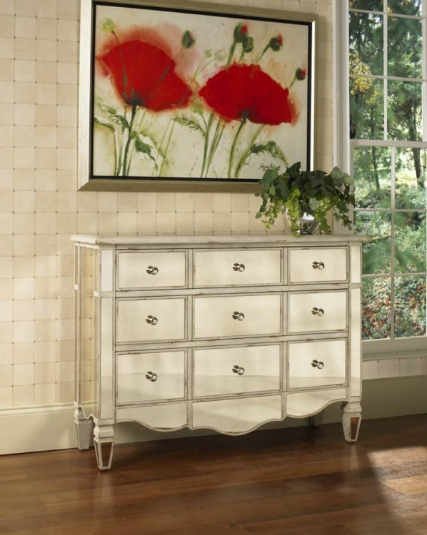 Radiance Mirroed Accent Chest - Pulaski