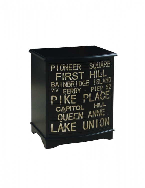 Union Accent Chest