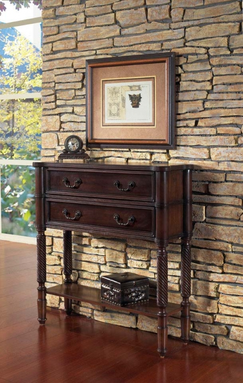 All Spice Accents Hall Chest
