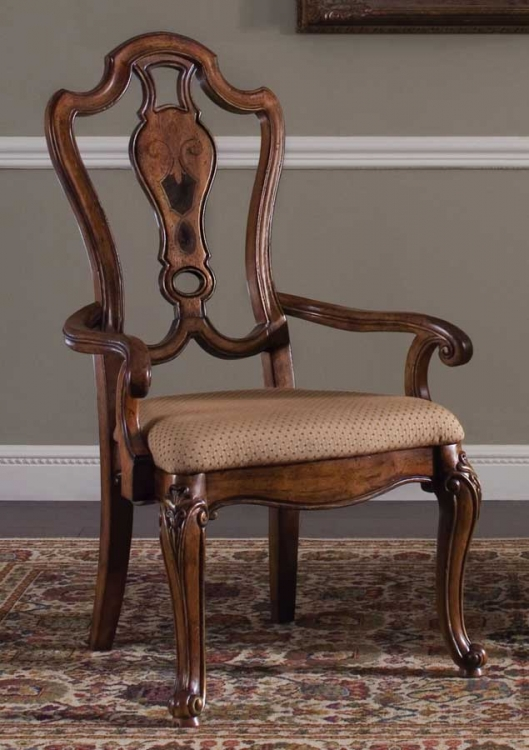 Palazzo Upholstered Arm Chair
