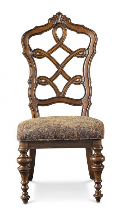 Cantabria Carved Back Side Chair