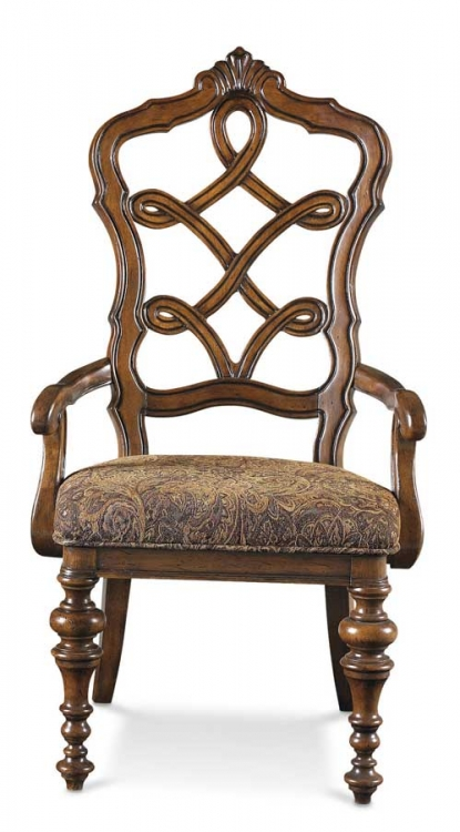 Cantabria Carved Back Arm Chair