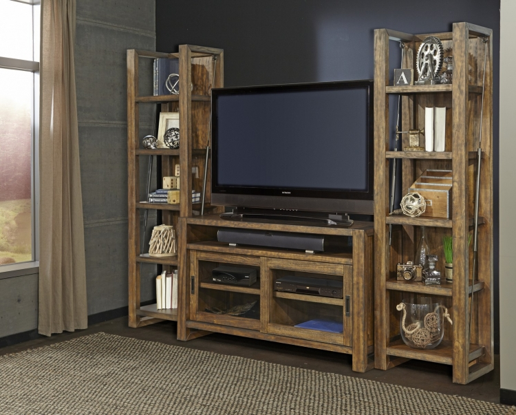 Allister Entertainment Wall Unit