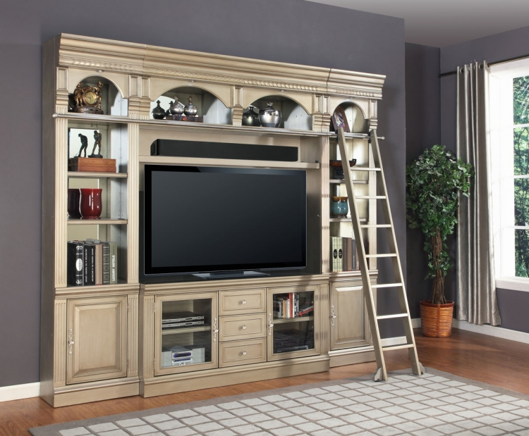Allure 60in Space Saver Entertainment Set - Parker House