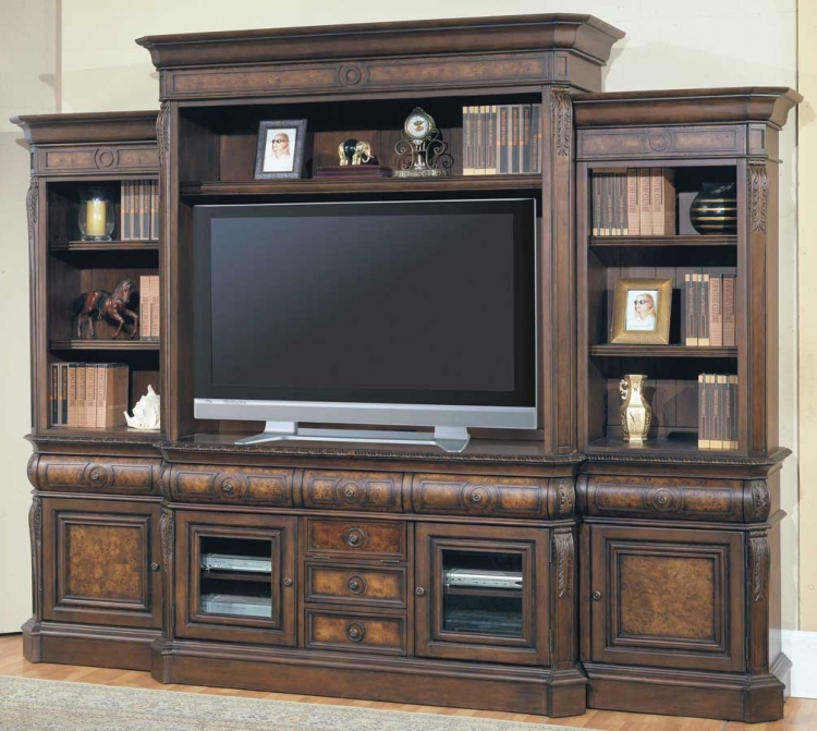 Andria 5 Piece Wall Unit - Parker House