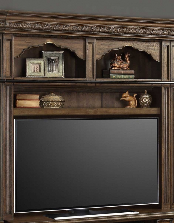 Parker House Aria 60in Bookcase TV Hutch