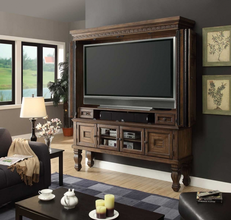 Aria 75in TV Entertainment Armoire