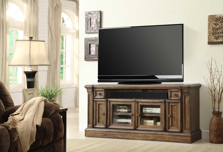 Aria 67in TV Console with Power Center