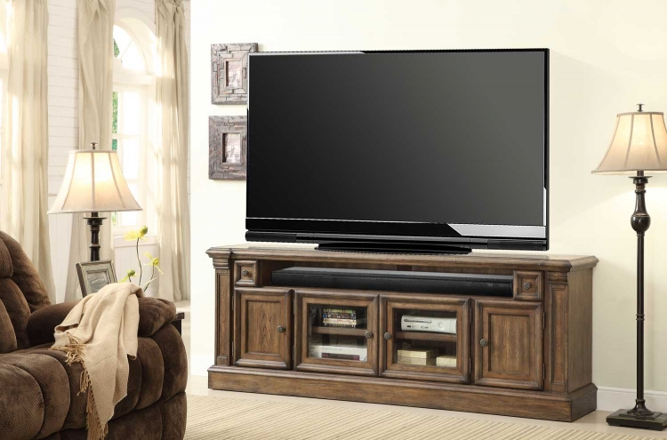 Aria 79in TV Console with Power Center