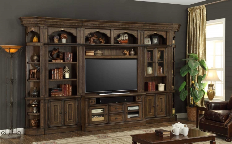 Aria Entertainment Wall Unit Set B