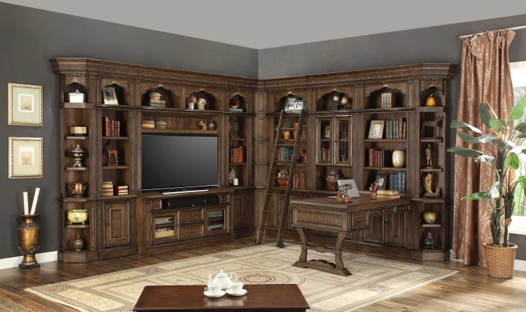Aria Library Wall Unit A