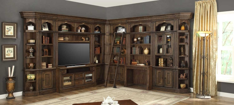 Aria Library Wall Unit C