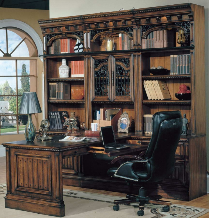 Barcelona Home Office Suite 7pc Peninsula Group