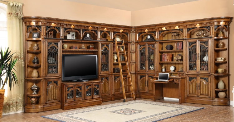 Barcelona Library Wall Unit 3