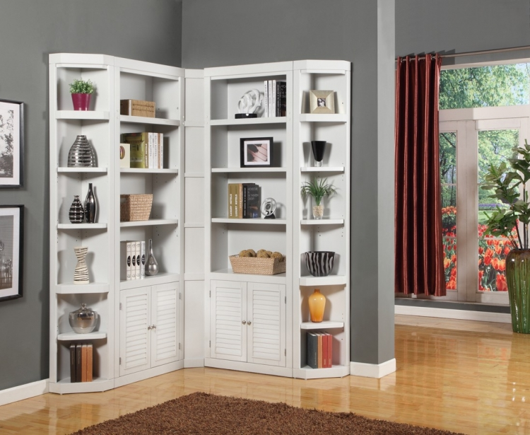 Boca Library Bookcase Wall Unit Set - A