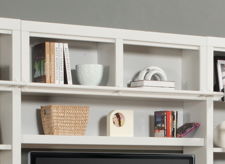 Parker House Boca 56in Bookcase Bridge -Shelf-Backpanel
