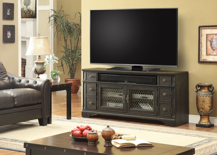 Bohemian Grove 63-inch TV Console with Power Center