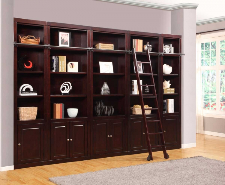 Boston Library Bookcase Set - B