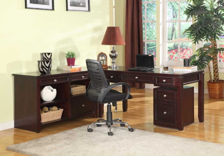 Boston Home Office Set - A - Parker House