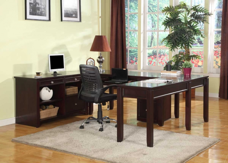 Boston Home Office Set - E - Parker House