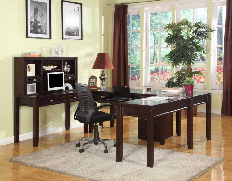 Boston Home Office Set - H - Parker House