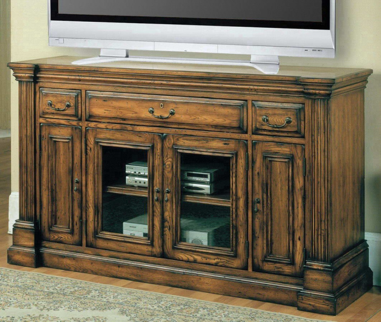 Canterbury 65in TV Console with Power Center - Parker House