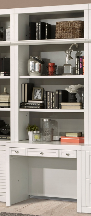 Parker House Catalina 40-inch Library Desk and Hutch